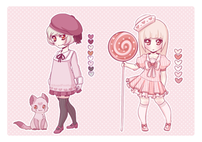 Adopts: All In Pink [CLOSED] by XAngelFeatherX