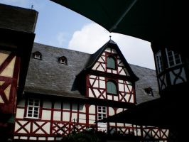 timbered house by BerlinFreak