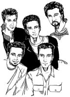 Ink Nsync by schoepenhauer