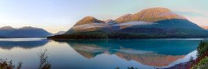 Mountain Pano2 by Djohns