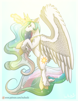 Celestia Day - 2016 by InuHoshi-to-DarkPen