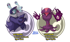 Sixth Gen Fakemon 14 by Blue-Paint-Sea