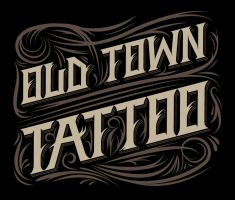 Old Town Tattoo Shirt by ftntravis