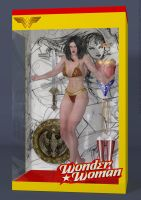 Wonder Woman Action Figure Doll by DevilishlyCreative