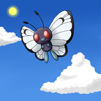 012 Butterfree by FinnishPokemonFan96