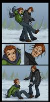 Bill Weasley Beatdown by The-Starhorse