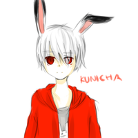 Kunicha Doodle by 7mint-and-chocolate