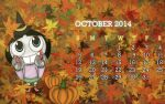 October by RagingDroidX