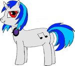 Vinyl Scratch - Post Trace and Base Color by arbiter1983