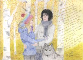 Shiver-Sam and Grace by didieremia