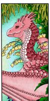 Dragon bookmark by Lesh4537