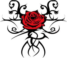 Red Rose by LivingDreadDoll