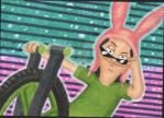 Louise Sketch Card by RadPencils