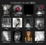 Summary Of Art 2012 by SandraHultsved