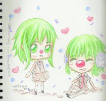 Gumi CLowns by xXxMantrumxXx