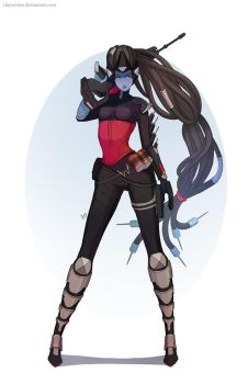 Overwatch: Widowmaker by clayscence