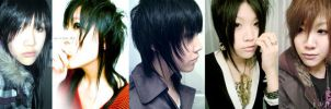 Hair changes in the past year. by Jankei