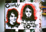 creepy Gerard and his fat twin by Schuchtern