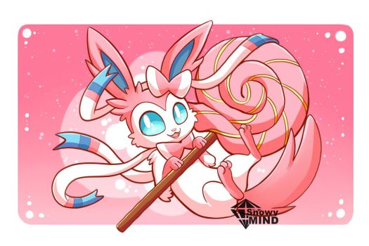 Sweet Sylveon by SnowyMind