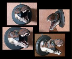 TRex Head by yerduf