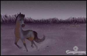 - snowstorm - by Lilafly