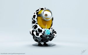 Cow Minion by Guilhermecs4