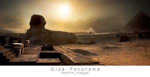 Giza Panorama by Ibrahim-K