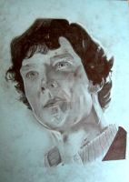 Bruised Sherlock by eurasia-art