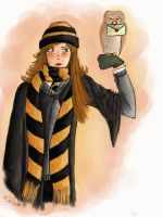 If I visited Hogwarts... by Lizeeeee