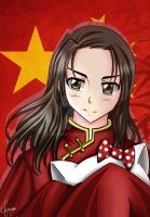 Hetalia : China Aru by spogunasya