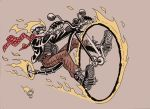 Hipster Ghost Rider by caiooliveira