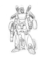 TF HALO BUMBLEBEE FINAL DESIGN by cheetor182