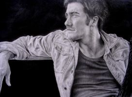 Jake Gyllenhaal by J-E-M