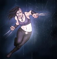 X-23 by FlameFireheart