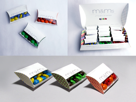 m+m's packaging redesign by lovelydawn