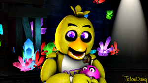 The backup singer-Chica by TalonDang