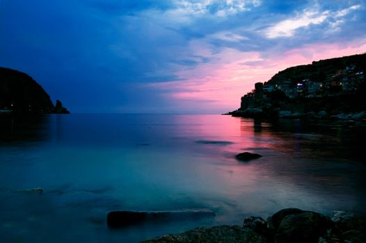 Amasra Sunset by psychache