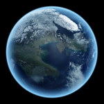 My first 3D Planet by Nazo-The-Unsolvable