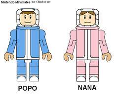 Nintendo Minimates Ice Climber by Lee-At-Arms