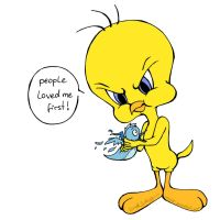 Tweety vs. Twitter by Loonaki