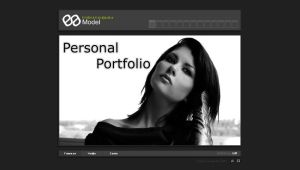 Model Portfolio Website by Yurik86