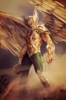 The Savage Hawkman by Forty-Fathoms