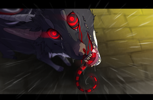 Eyes of fury by Rinermai