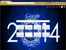 Happy news Year 2014 by SPCM2011