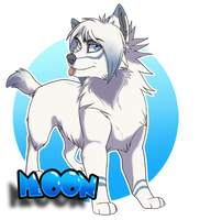 Moon badge - gift by Kairi292