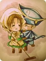 Chibi HRE and Chibitalia - I'm home by pipapipo