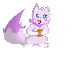 A Gift For Chibi! by LavendarWolfWillow
