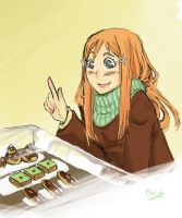 orihime by Myrrie