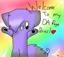 welcome to my page bro! by JJ-cat
