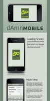 dAmnMobile v2 by Pickley